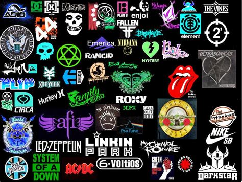 music artists names from a to z perfect cool band logos part 5 quiz logo