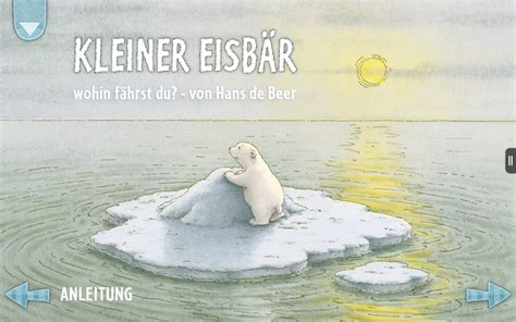 libro the little polar bear kleiner eisb 228 r wohin f 228 hrst du von hans de beer amazon de apps f 252 r android