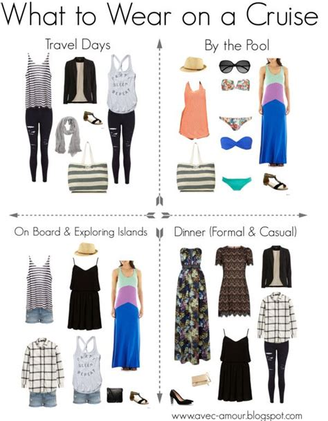 what do i wear to a what to wear on a cruise travel