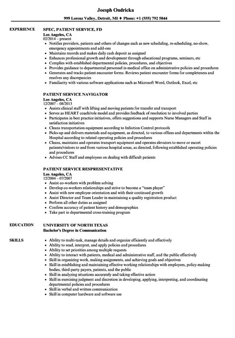 Flash Animator Cover Letter by Patient Service Representative Resume Flash Animator Cover Letter