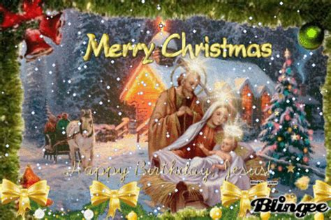 merry christmas happy birthday jesus pictures   images  facebook tumblr