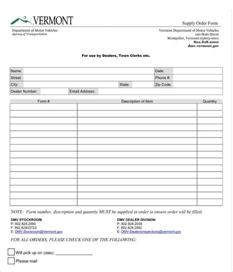 13 Retail Order Form Templates Free Word Pdf Excel Formats Retail Purchase Order Template