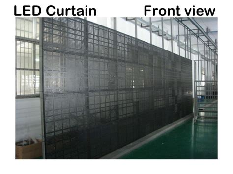 led curtain wall ice led modular curtain wall