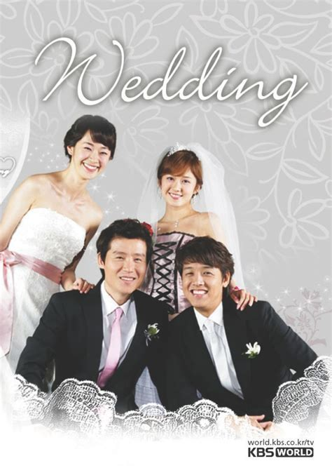 """Wedding"" is a 2005 Korean romantic comedy starring Ryu Si"