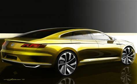 new new new s 9076 cc vw sport coupe concept gte hints at new passat cc news
