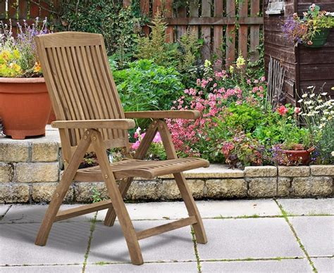 most comfortable reclining garden chair bali reclining garden chair teak
