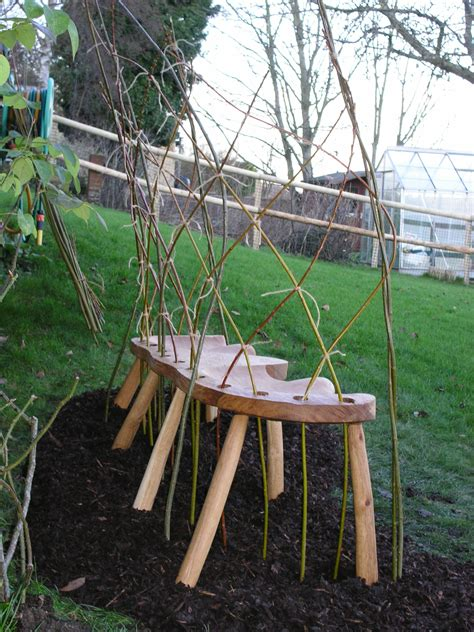 willow bench rustic benches neil taylor furniture