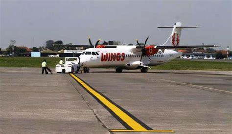 Air Baru foto rute baru penerbangan wings air surabaya terbang perdana travel solopos