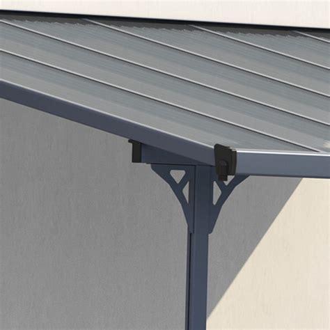 pergola terrazzo pergola 3 75x2 55m x metal regolabile alluminio