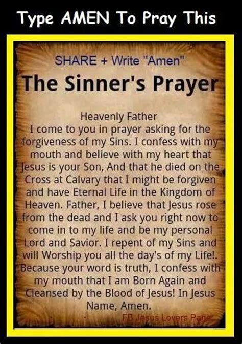 The Sinner Also Search For Sinners Prayer Its The God In Me