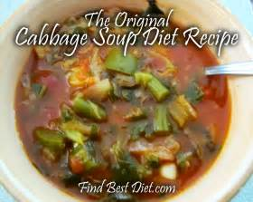 cabbage soup diet recipe find best diet com