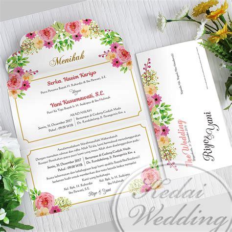 desain undangan nikah jogja undangan murah jogja bentuk amplop undangan pernikahan