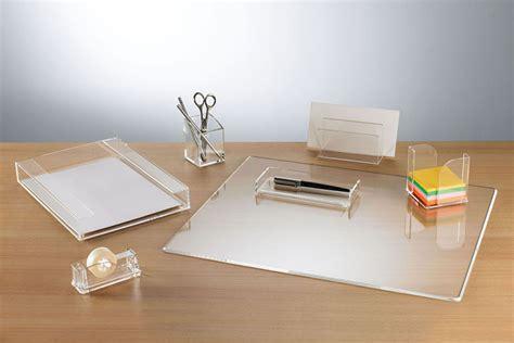 Clarys Desktop Accessories Desks International Your Glass Desk Accessories Sets