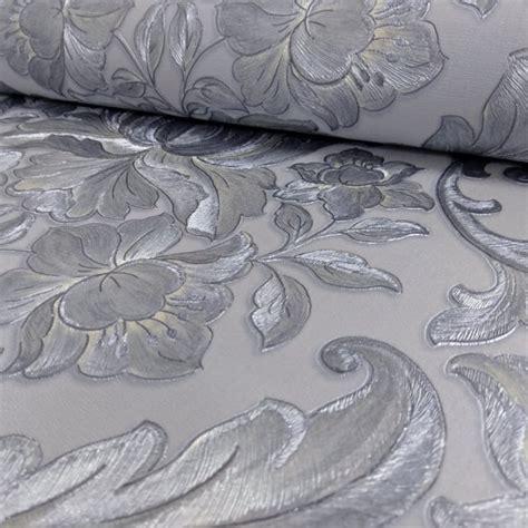 Metallic Damask Wallpaper Uk