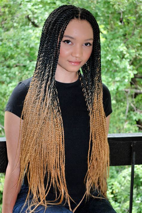 how to do ombre box braids the highlights thou scariespice just hair