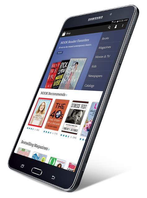 samsung galaxy tab 4 nook is the new b n nook tablet