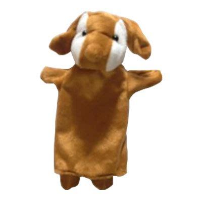 Boneka Tangan Hewan Katak Mainan Edukatif Mainan Edukasi boneka kain boneka tangan hewan anjing kayu seru