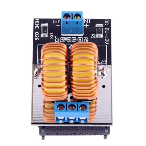 induction heater power 5v 12v low voltage zvs induction heating power supply module heater coil dt ebay