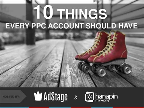 items every home should have 10 things every ppc account should have