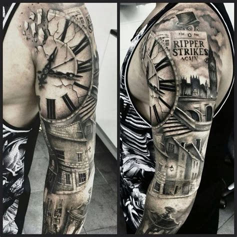 creating meaning through clock tattoos http
