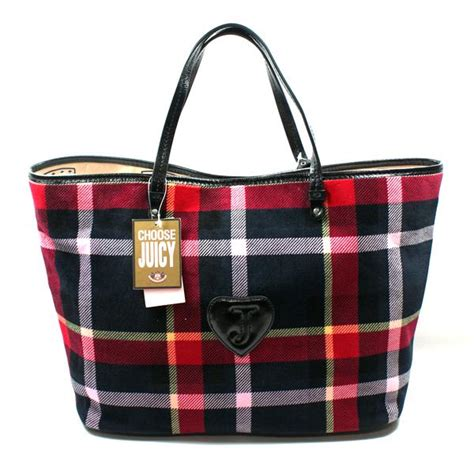 Plaid Bag couture plaid multi tote bag yhru2190