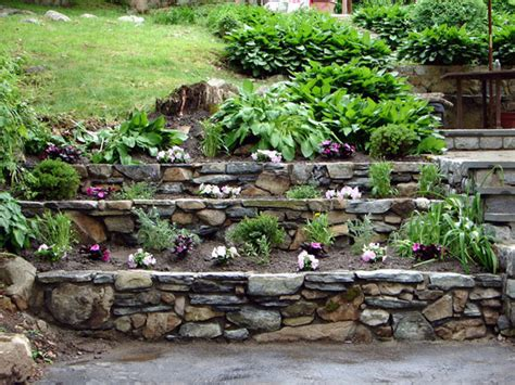 Retaining Wall Landscaping Ideas 20 Rock Garden Ideas That Will Put Your Backyard On The Map