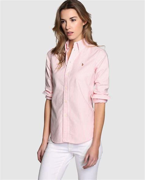 camisa de mujer polo ralph lauren  manga larga