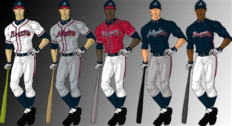 braves colors color help baseball fever