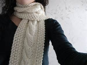 Cable knit scarf pattern i ve been knitting for half a