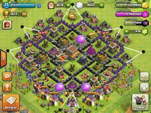 Coc best th8 farming base