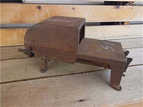 soldering bench antique johnson gas co 101 bench forge soldering furnace cast iron tool ebay