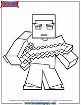 Minecraft Sword Coloring Pages