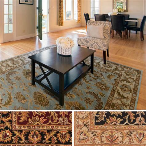 Ollies Area Rugs Ollies Area Rugs Artistic Weavers Ollie Traditional Border Area Rug 7 6 X 9 6 Overstock