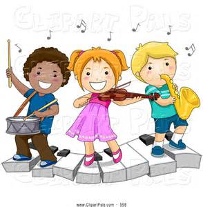 Kids playing music clipart clipart panda free clipart images