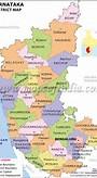 Karnataka District Map