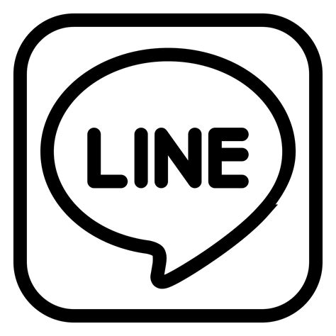 logo black and white lines line icon free at icons8