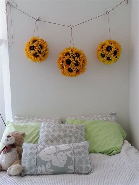 sunflower themed bedroom 17 best ideas about sunflower room on pinterest