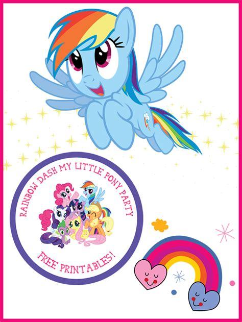 my little pony printable birthday decorations my little pony rainbow dash birthday party rainbow dash