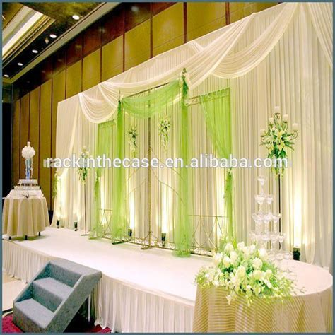 wedding decorations drapes the backdrop pipe and drape for wedding decoration buy