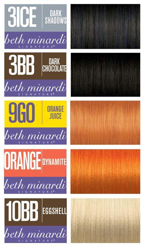 beth minardi color beth minardi signature haircolor introduces 9 high fashion