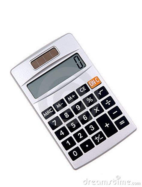 calculator solar panel solar powered calculator royalty free stock images image