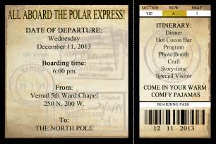 polar express ticket printable template free printable insanity workout calendar models picture