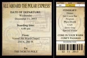polar express printable ticket new calendar template site