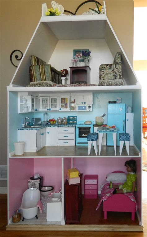 kidkraft 18 inch doll house for sale handcrafted doll house and accessories on my creative side