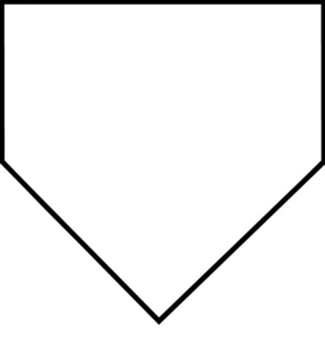 home plate hp11 home plate plaque monarch trophy awards clipart