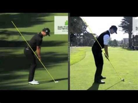 how to swing like adam scott adam scott golf swing compared to the model swing by craig