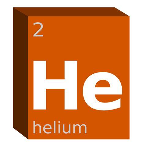 Periodic Table Helium Clipart Helium He Block Chemistry