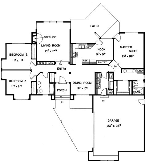 bass creek ranch home plan 085d 0250 house plans and more
