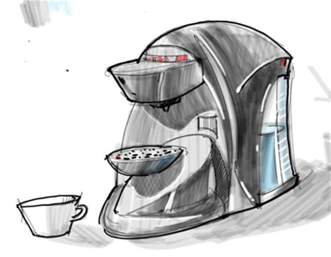 Id Render How To Draw by How To Draw Coffee Machine