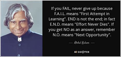 Never Dies Essay by Top 25 Quotes By Abdul Kalam Of 142 A Z Quotes